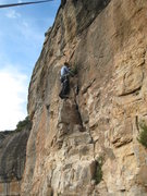 Rock Climbing Photo: The fun, trivial start of Siako Dase.