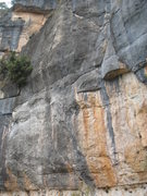 Rock Climbing Photo: Rodriguez Y Rodriguez is the line just left of the...