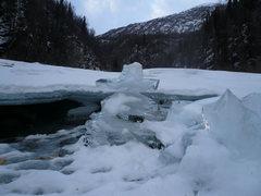 Rock Climbing Photo: Ice Cairn