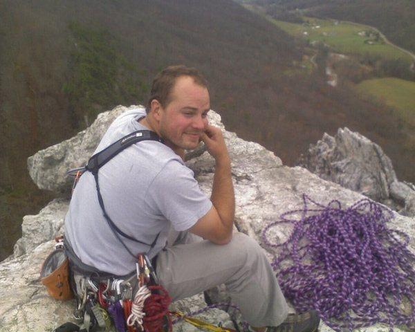 Rock Climbing Photo: Top of Seneca Rocks, WV