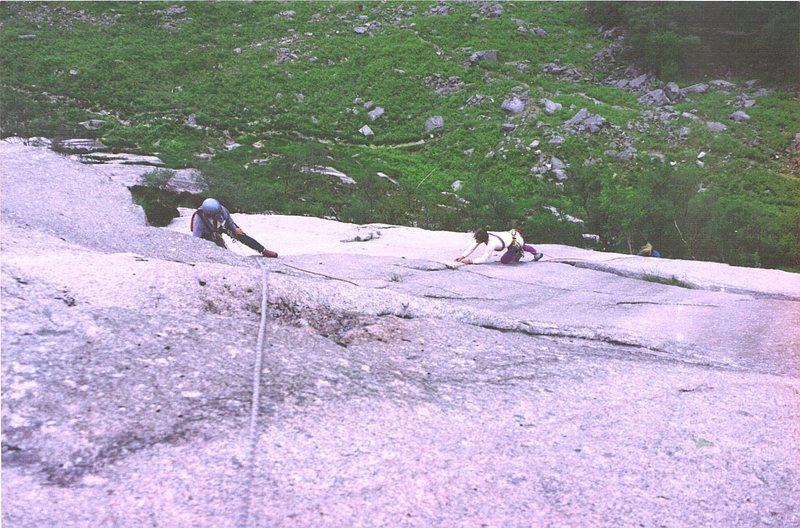 Rock Climbing Photo: Etive Slabs
