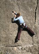 Rock Climbing Photo: Awesome pockets on Ultima del 85
