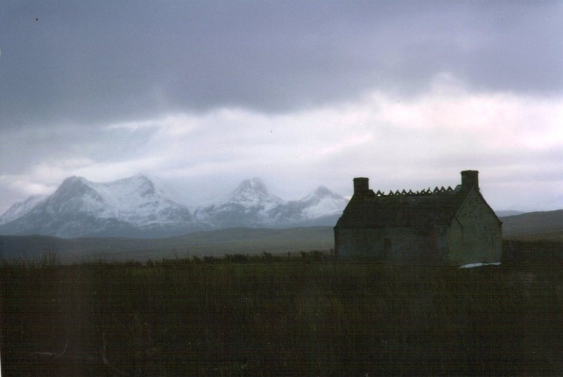 Stormy day in the Highlands