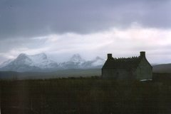 Rock Climbing Photo: Stormy day in the Highlands