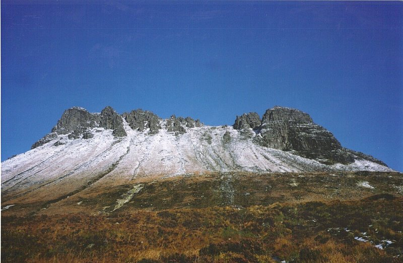 Rock Climbing Photo: Beautiful day in the Highlands.Many rock routes on...
