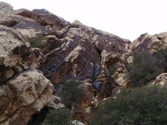 Rock Climbing Photo: Looking up at Berry Nice