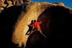 Rock Climbing Photo: Charlie Barrett on 'Streetcar Named Desire'