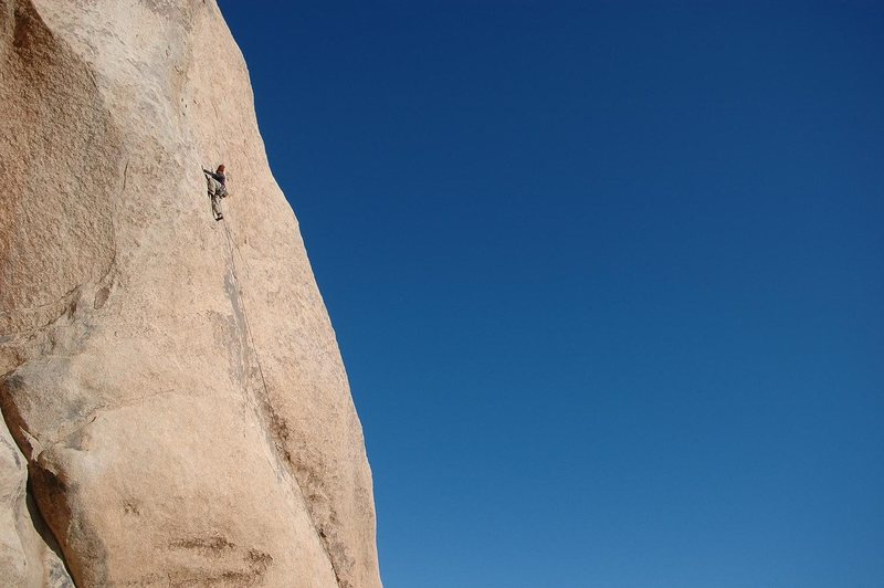 Rock Climbing Photo: Jeremy Freeman on Swept Away
