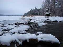 Rock Climbing Photo: The headwaters of the Mississippi, Itasca State Pa...