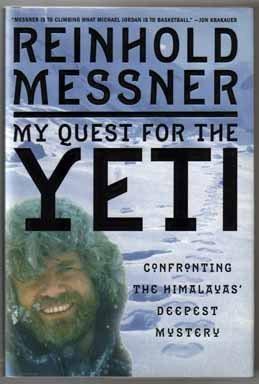 Rock Climbing Photo: Messner's Yeti book.