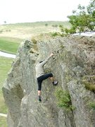 Rock Climbing Photo: 2007.Last time back in Borrowdale anniversary solo