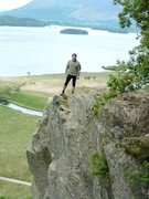 Rock Climbing Photo:  Great views above the Derwentwater Lake . The tow...