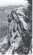 Rock Climbing Photo:  About 1966 .The Lamplighter Folk group from Keswi...