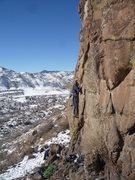 Rock Climbing Photo: The start. Where's my belayer? Photo: Roth (who sh...