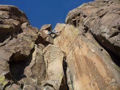 Rock Climbing Photo: Super wide stem.