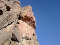 Rock Climbing Photo: mr.squarel places a nut