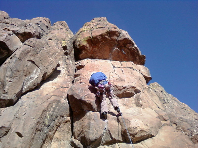 Rock Climbing Photo: table mnt