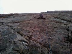 Rock Climbing Photo: matt on the red walls