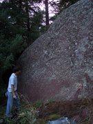 Rock Climbing Photo: Ben C. sizing up Prime Cut (V3).