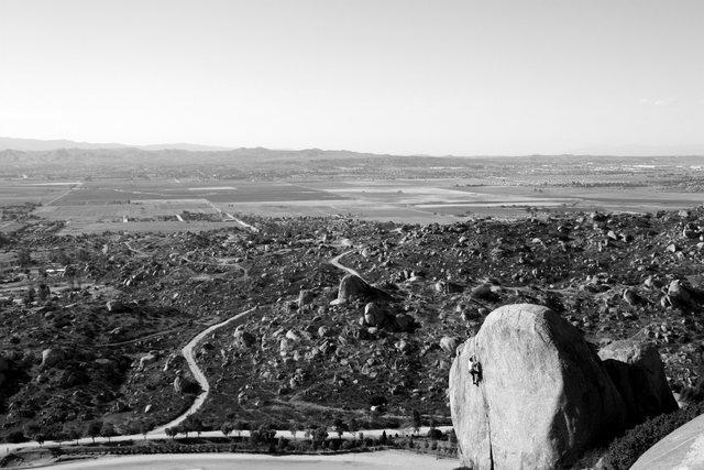 Rock Climbing Photo: Lizard King Crack (5.10a), Nuevo