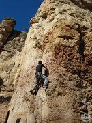 Rock Climbing Photo: WM on Disciples of Hell. @ C2.