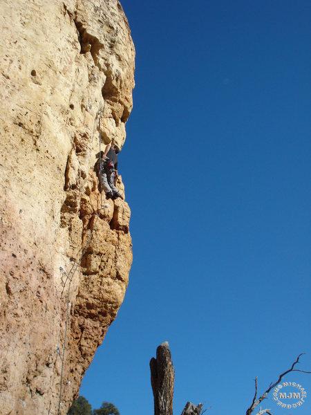 Rock Climbing Photo: WM @ C5, Disciples of Hell.