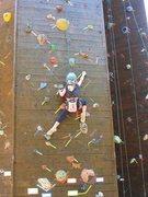 Rock Climbing Photo: supervised kidclimber