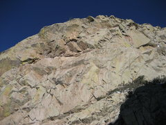Rock Climbing Photo: Wildcat's SW face as viewed from the Wildcat Gully