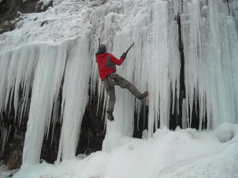 Rock Climbing Photo: ice