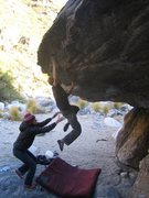 Rock Climbing Photo: Ian