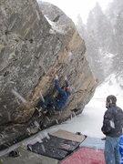 Rock Climbing Photo: Ice-Land