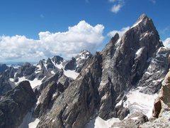 Rock Climbing Photo: View from Teewinot 12,325