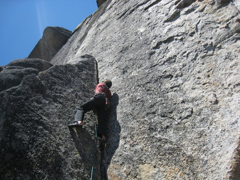 Our ropegun Cody on the start.  <br> <br> July 2009