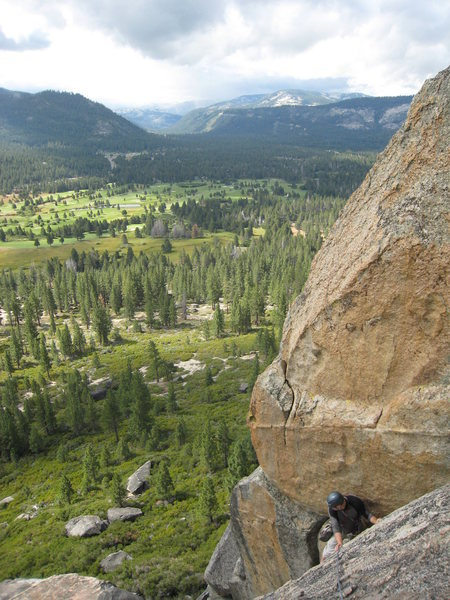 Rock Climbing Photo: An unusual late summer storm in the Sierras makes ...