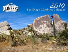 Rock Climbing Photo: ACSD Calendar Cover