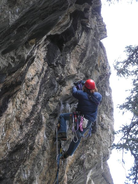 Rock Climbing Photo: Luke putting in the time, effort and money for thi...