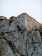 Rock Climbing Photo: GRK on the upper half on Concrete Jungle.