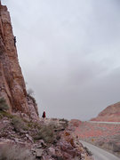 Rock Climbing Photo: Wilderness experience at its best: GRK on Egde of ...