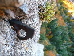 Rock Climbing Photo: Scandinavian Tuna hardware. You'll be thanking Jee...