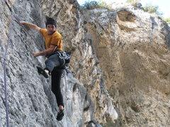 "Rock Climbing Photo: ""Warming up"" on Coco Loco."