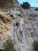 Rock Climbing Photo: Starting up Roxy La Primera.