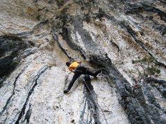 Rock Climbing Photo: Beginning the looong journey.