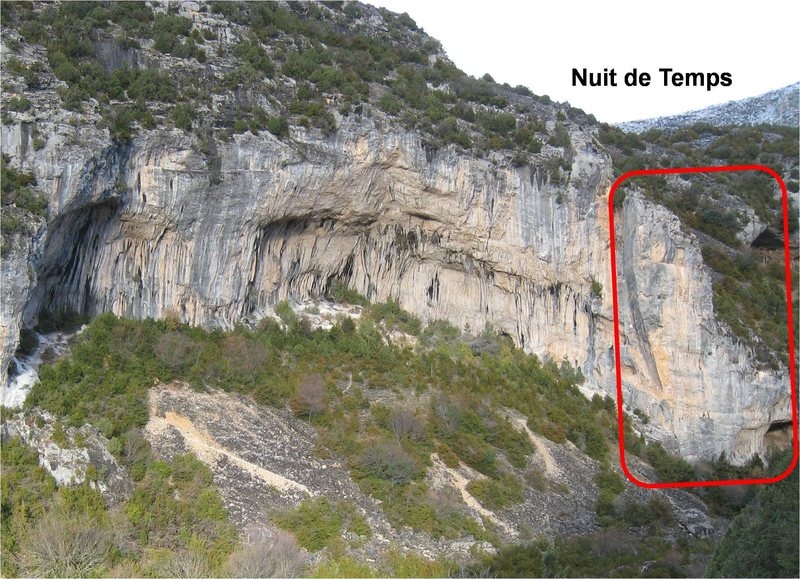 Nuit de Temps is on the right end of Gran Boveda.