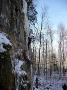 Rock Climbing Photo: This is the area between the off-limits Historic S...