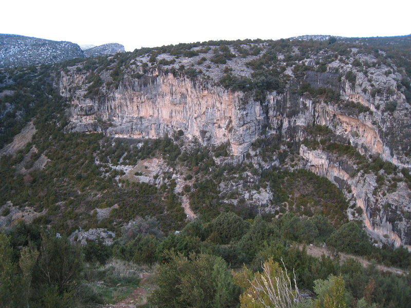 "The ""Laperne"" cliff."
