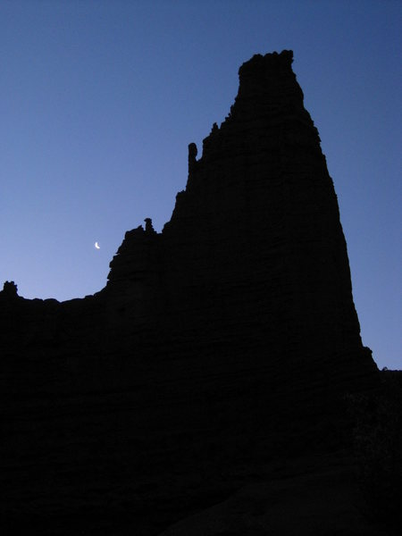Rock Climbing Photo: The Titan at 5:30 A.M.