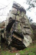 Rock Climbing Photo: Twin Cracks Buttress