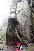 Rock Climbing Photo: Central Wall