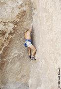 Rock Climbing Photo: Bachar solos