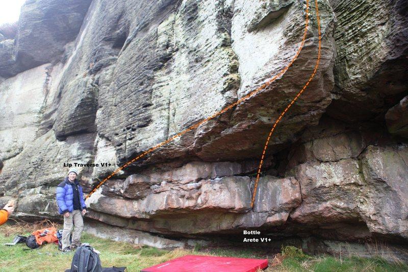 Rock Climbing Photo: Enchanter Wall Topo